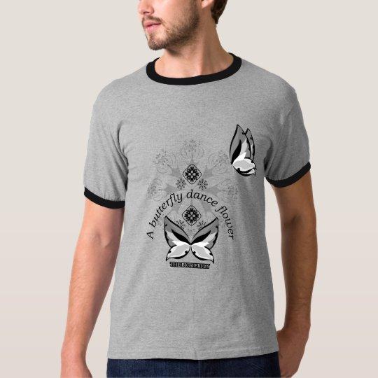 蝶蝶 Tシャツ