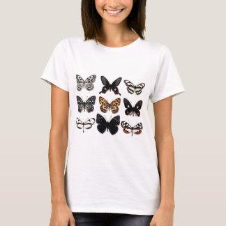 蝶表示 Tシャツ