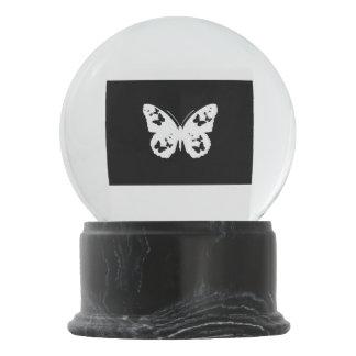蝶雪の地球 スノーグローブ