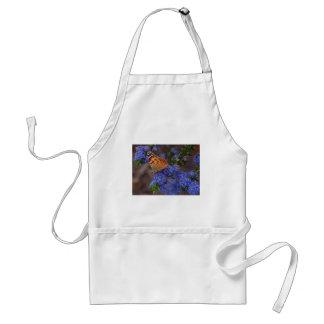 蝶青の花 スタンダードエプロン