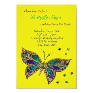 蝶魔法の誕生日 カード