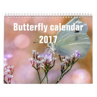 蝶2017年 カレンダー