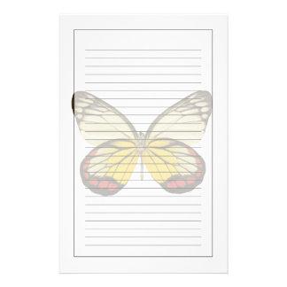 蝶3のクローズアップ 便箋