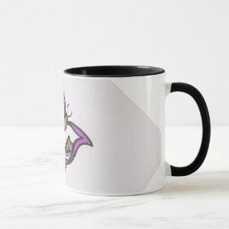 蝶3 マグカップ