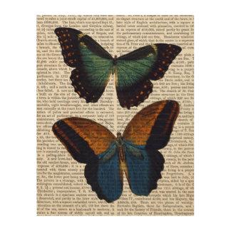 蝶5 ウッドウォールアート