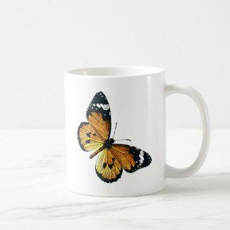 蝶 コーヒーマグカップ