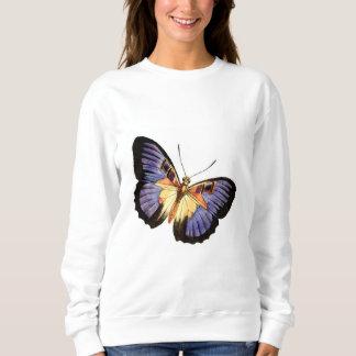 蝶 スウェットシャツ