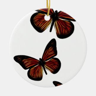 蝶 セラミックオーナメント