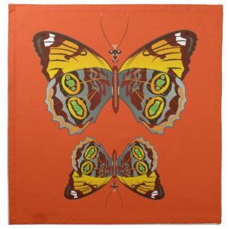 蝶 ナプキンクロス