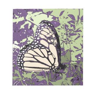 蝶 ノートパッド