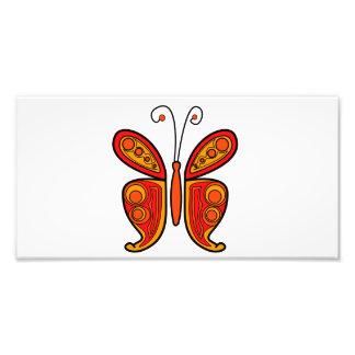 蝶 フォトプリント