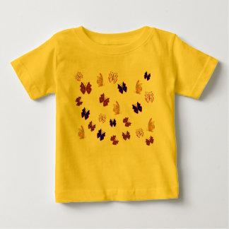 蝶 ベビーTシャツ