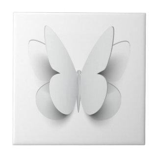 蝶-ペーパー効果から切って下さい タイル