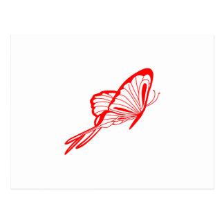 蝶 ポストカード