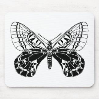 蝶 マウスパッド