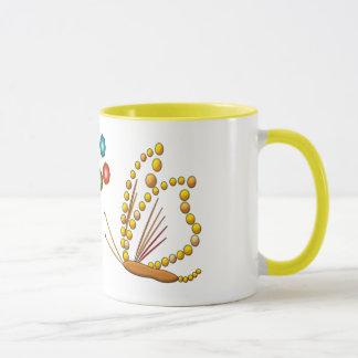蝶 マグカップ