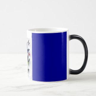 蝶 マジックマグカップ