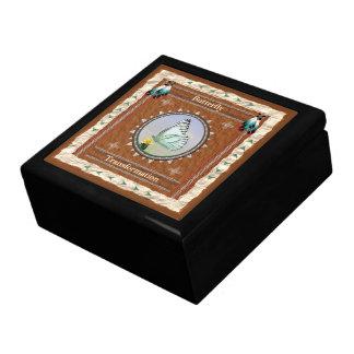 蝶-変形のタイルが付いている木製のギフト用の箱 ギフトボックス