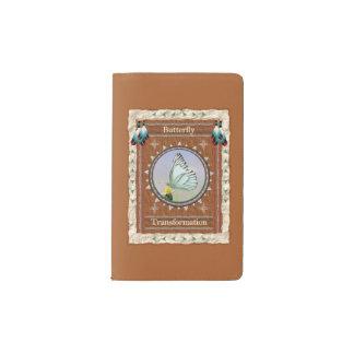 蝶-変形のノートのモールスキンの入江 ポケットMoleskineノートブック