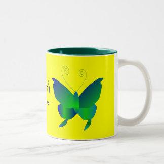 蝶|夢 ツートーンマグカップ