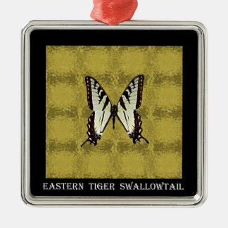 蝶(東のトラのアゲハチョウ) メタルオーナメント