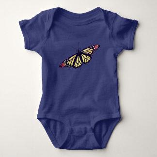 """""""蝶""""赤ん坊のジャージーのボディスーツ ベビーボディスーツ"""