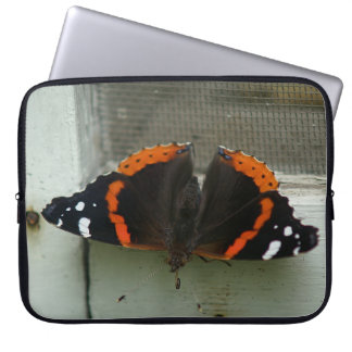 蝶、電子工学袋 ラップトップスリーブ