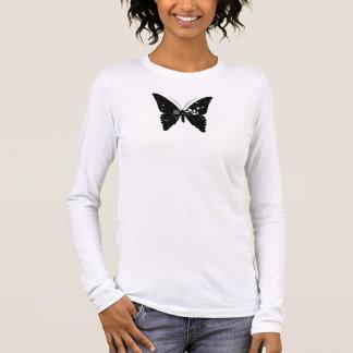 蝶/ Butterfly 長袖Tシャツ