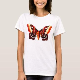 蝶- Pseudimbrasia Deyrollei Tシャツ
