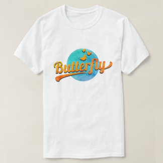 蝶 Tシャツ