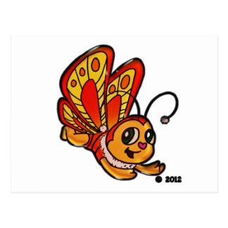 蝶Chloeの昇進項目 ポストカード