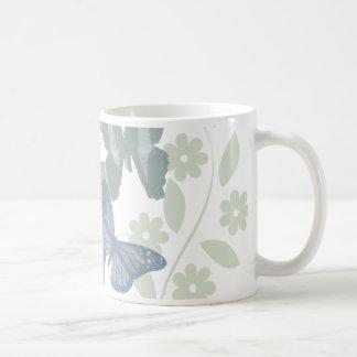 蝶ColorFixed コーヒーマグカップ