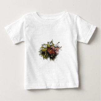 蝶Splat ベビーTシャツ