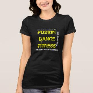 融合のダンスのフィットネスのヒップホップおよび多く Tシャツ