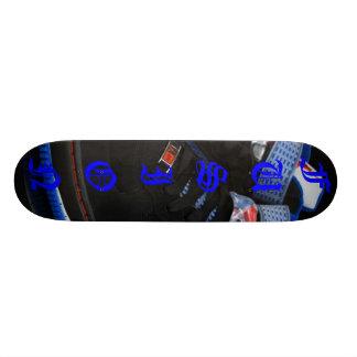 融合板 21.6CM スケートボードデッキ