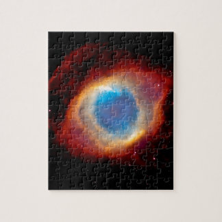 螺旋形の惑星状星雲NGC 7293 -神の目 ジグソーパズル