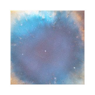 螺旋形の星雲の目のキャンバスプリント キャンバスプリント