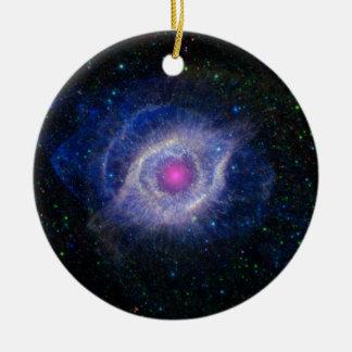 螺旋形の星雲 セラミックオーナメント