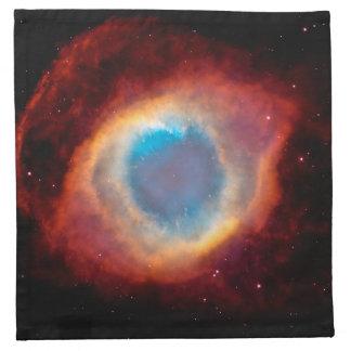螺旋形の星雲 ナプキンクロス