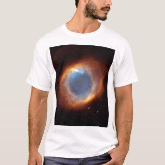 螺旋形の星雲 Tシャツ