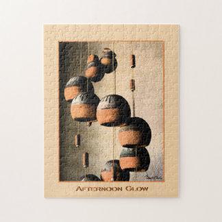 螺線形にされた粘土のウィンドチャイムの静物画 ジグソーパズル