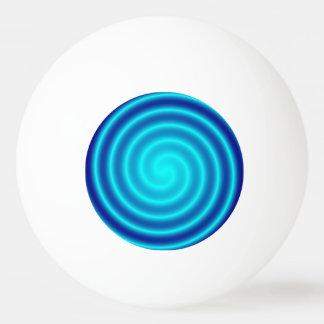 螺線形になる青い眩暈 卓球ボール