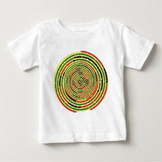 螺線形のジャマイカ ベビーTシャツ