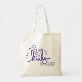 螺線形のロゴのバッグ-ブドウ トートバッグ