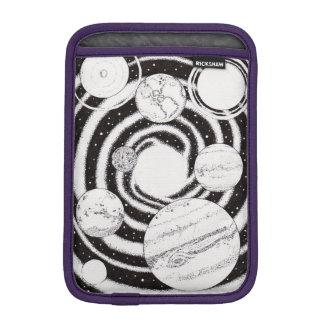螺線形の惑星の箱 iPad MINIスリーブ
