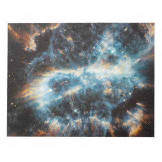 螺線形の惑星状星雲 ノートパッド