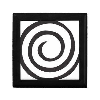 螺線形の抽象芸術 ギフトボックス