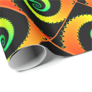 螺線形の芸術2の包装紙 ラッピングペーパー
