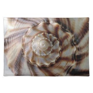 螺線形の貝 ランチョンマット