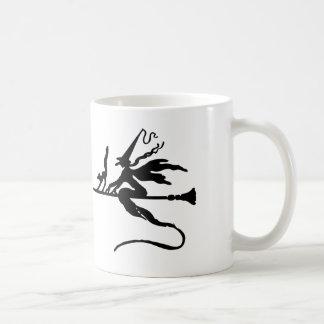螺線形の魔法使いのマグ コーヒーマグカップ